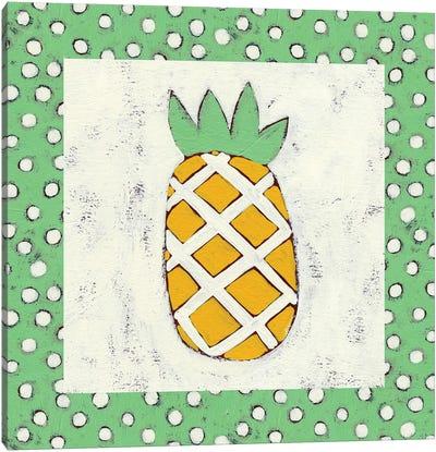 Pineapple Vacation II Canvas Print #ZAR52