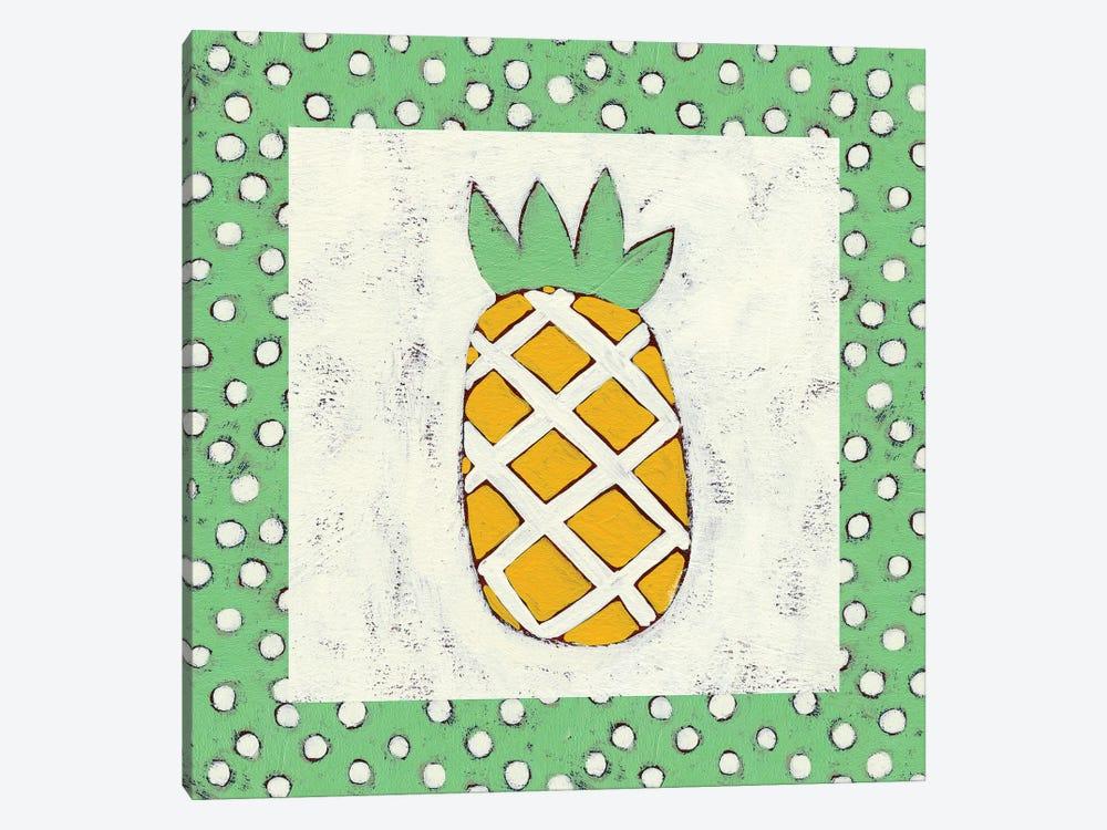 Pineapple Vacation II by Chariklia Zarris 1-piece Canvas Print