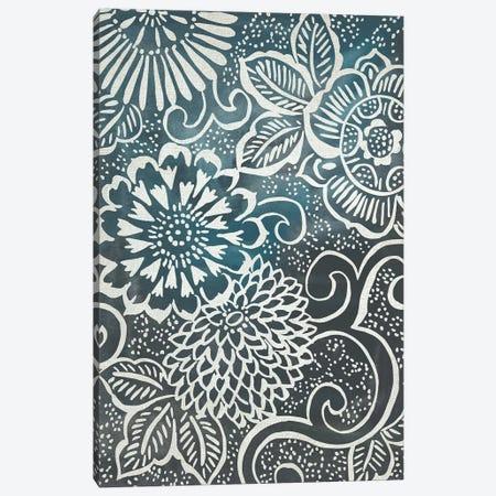 Floral Batik II Canvas Print #ZAR542} by Chariklia Zarris Canvas Print