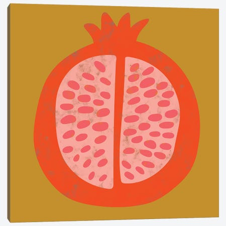 Fruit Party VI Canvas Print #ZAR548} by Chariklia Zarris Canvas Art Print