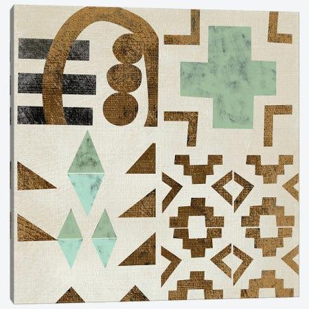 Geo Tile I Canvas Print #ZAR551} by Chariklia Zarris Canvas Artwork