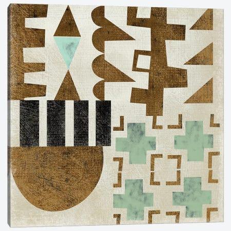 Geo Tile II Canvas Print #ZAR552} by Chariklia Zarris Canvas Artwork