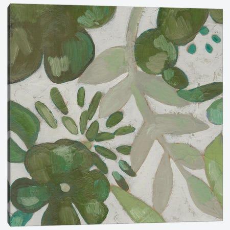 Greenery III Canvas Print #ZAR557} by Chariklia Zarris Canvas Art Print