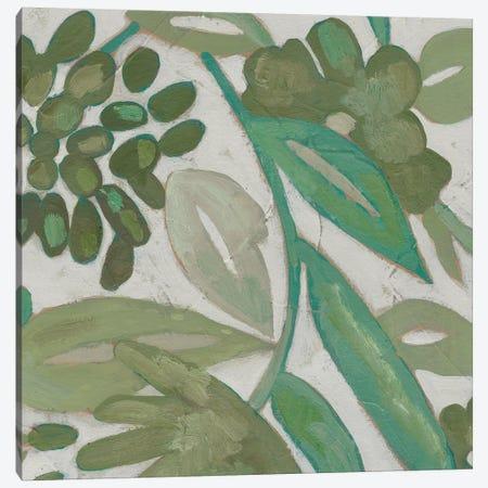 Greenery IV Canvas Print #ZAR558} by Chariklia Zarris Canvas Artwork