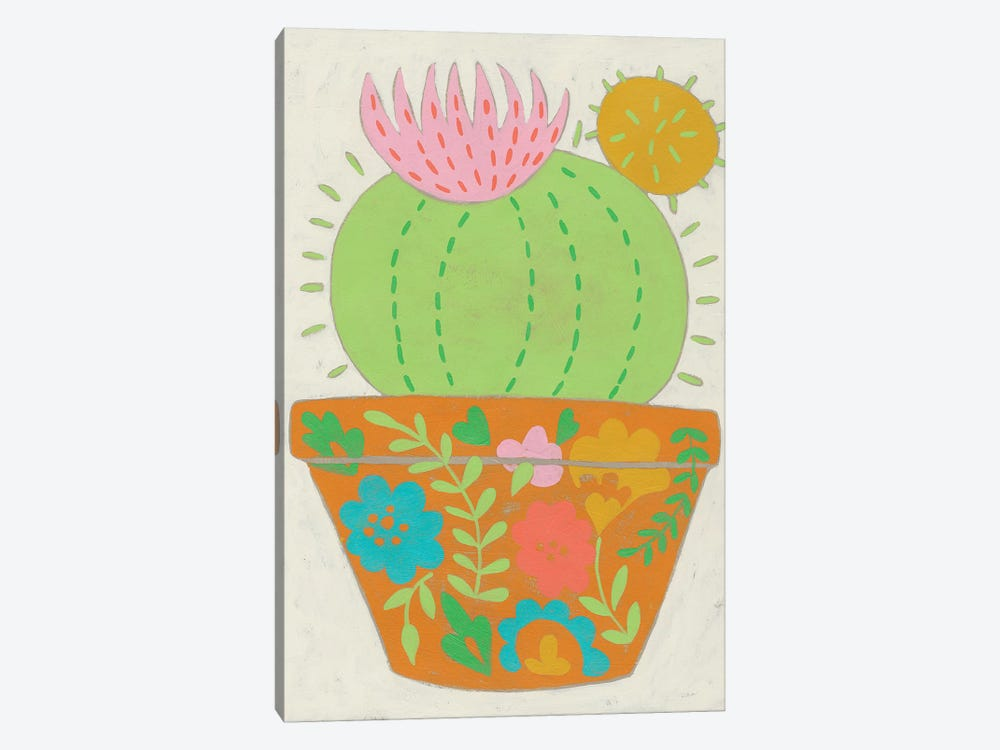 Happy Cactus III by Chariklia Zarris 1-piece Art Print
