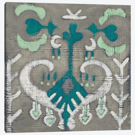 Teal Tapestry I Canvas Print #ZAR583} by Chariklia Zarris Canvas Art Print