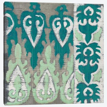 Teal Tapestry II Canvas Print #ZAR584} by Chariklia Zarris Canvas Wall Art