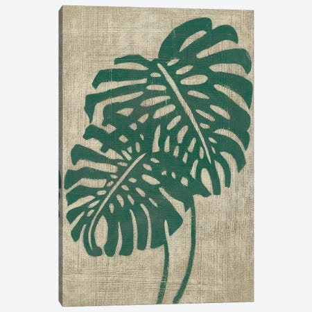 Vintage Greenery I Canvas Print #ZAR587} by Chariklia Zarris Canvas Artwork