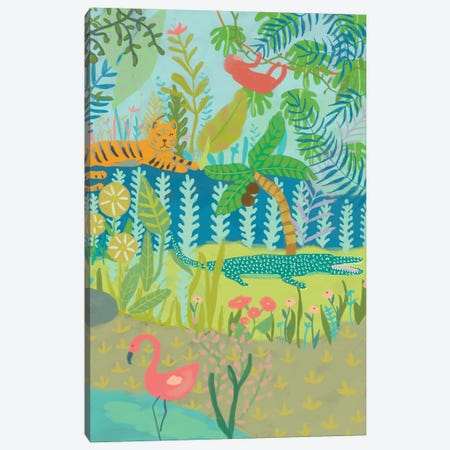 Jungle Dreaming II Canvas Print #ZAR594} by Chariklia Zarris Canvas Print