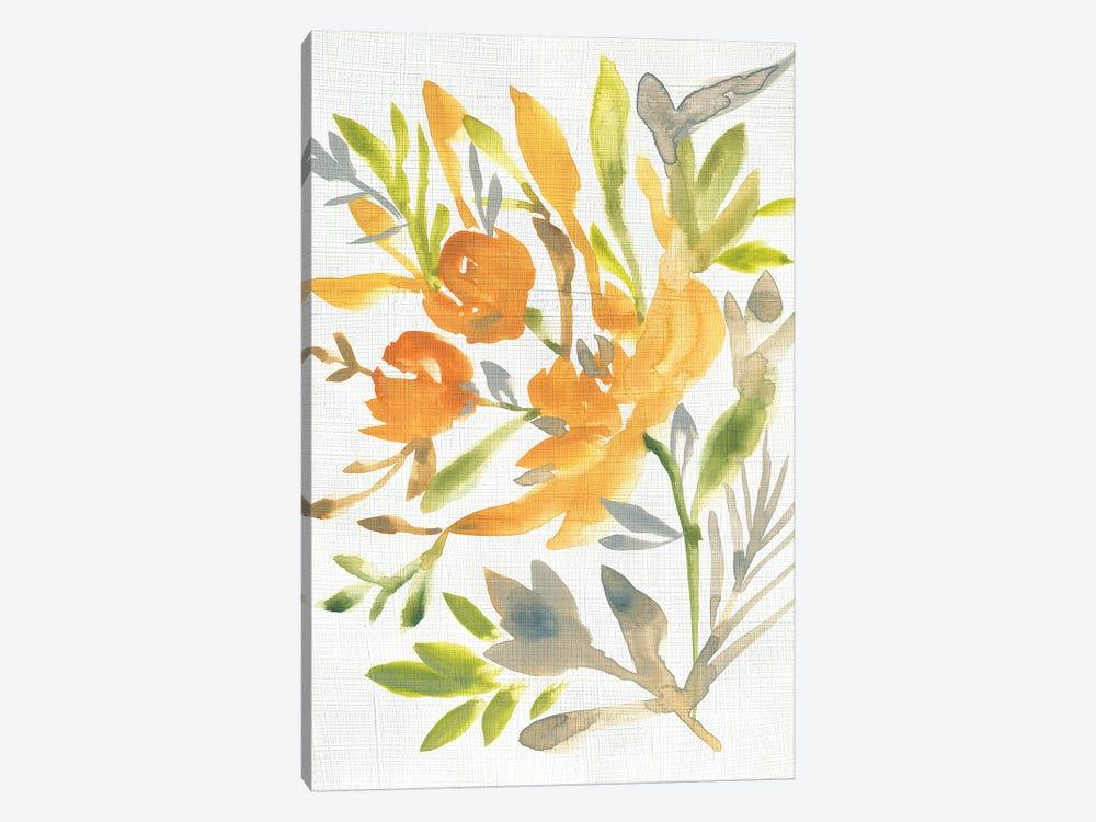 Butterscotch Bouquet I by Chariklia Zarris 1-piece Canvas Art