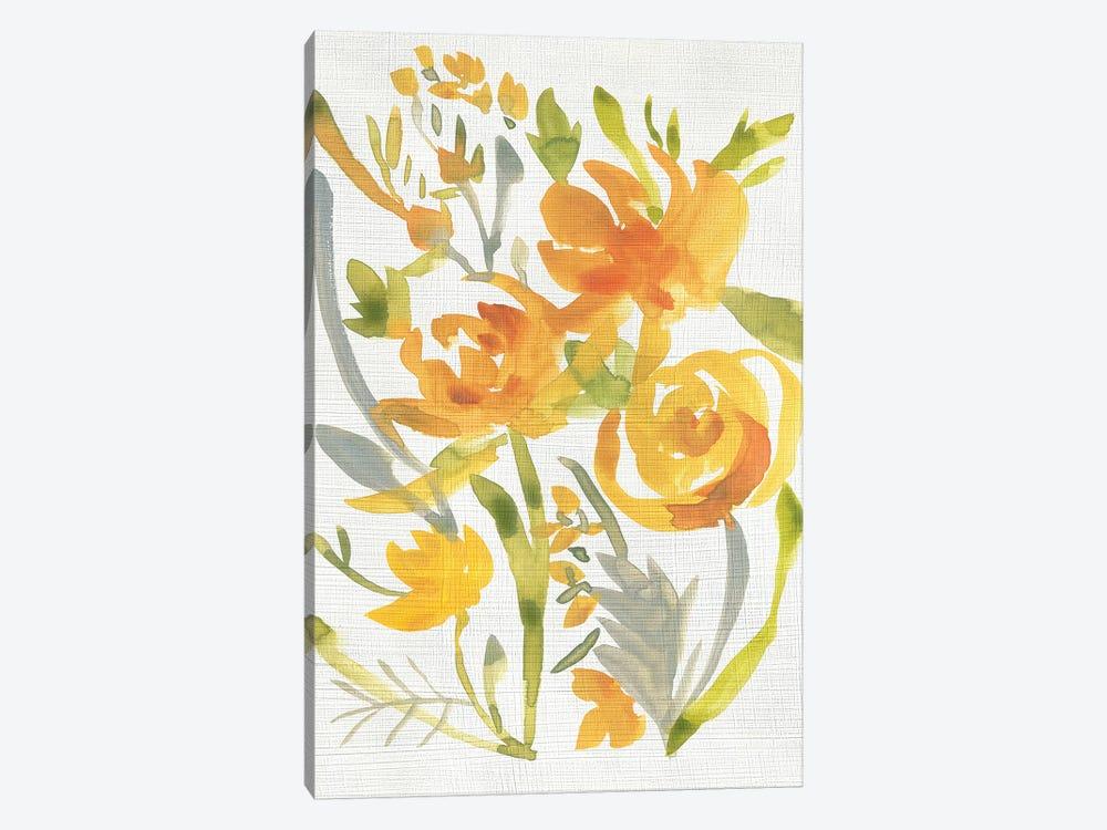Butterscotch Bouquet II by Chariklia Zarris 1-piece Canvas Art Print