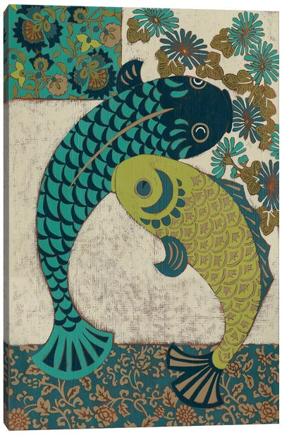 Koi Ornament I Canvas Art Print