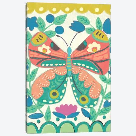 Flutterfly I Canvas Print #ZAR608} by Chariklia Zarris Canvas Artwork