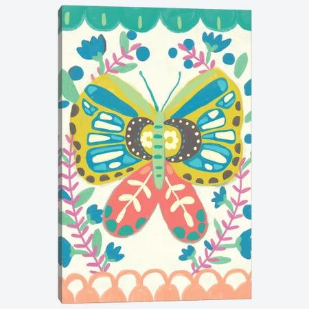 Flutterfly II Canvas Print #ZAR609} by Chariklia Zarris Canvas Artwork