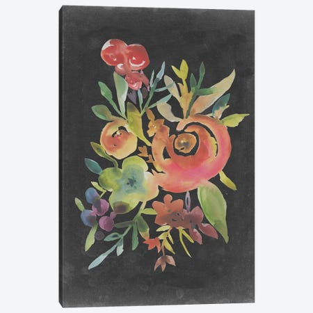 Velvet Floral I Canvas Print #ZAR629} by Chariklia Zarris Canvas Artwork