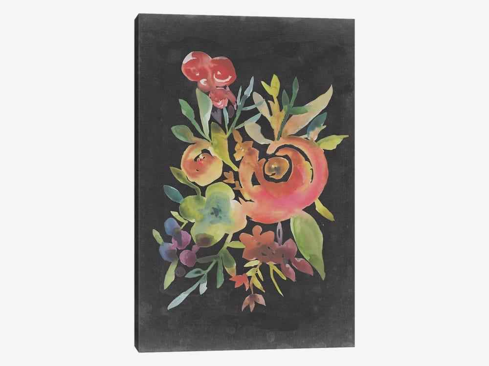 Velvet Floral I by Chariklia Zarris 1-piece Canvas Art Print
