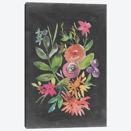 Velvet Floral II Canvas Print #ZAR630} by Chariklia Zarris Art Print