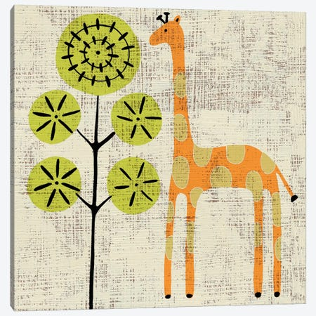 Ada's Giraffe Canvas Print #ZAR64} by Chariklia Zarris Canvas Artwork
