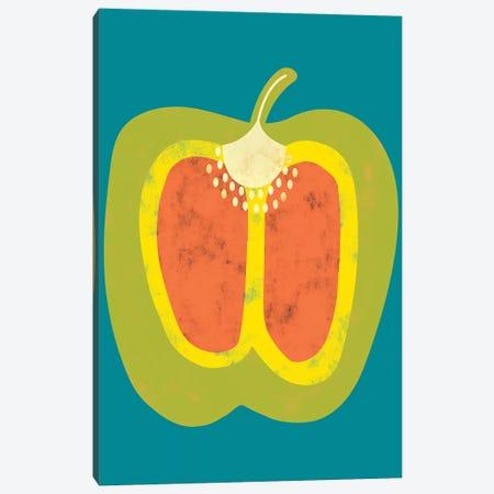 Veggie Party VI Canvas Print #ZAR657} by Chariklia Zarris Canvas Artwork