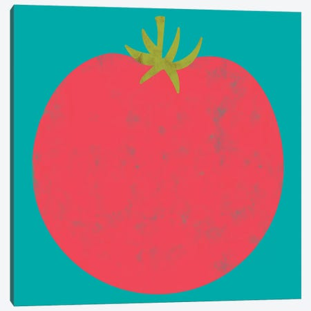 Veggie Party VII Canvas Print #ZAR658} by Chariklia Zarris Canvas Art Print