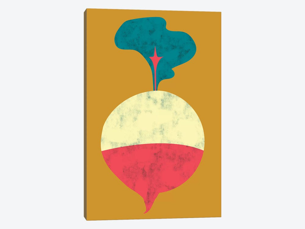 Veggie Party VIII by Chariklia Zarris 1-piece Canvas Wall Art