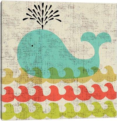 Ada's Whale Canvas Print #ZAR65