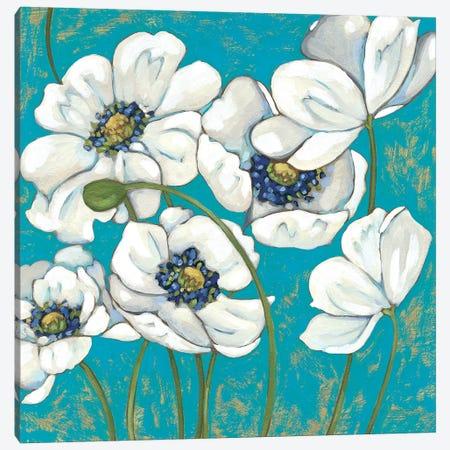 Lakeside Poppies I Canvas Print #ZAR660} by Chariklia Zarris Canvas Wall Art