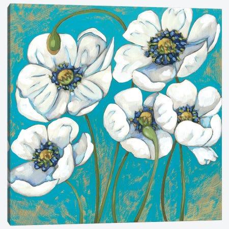 Lakeside Poppies II Canvas Print #ZAR661} by Chariklia Zarris Canvas Wall Art