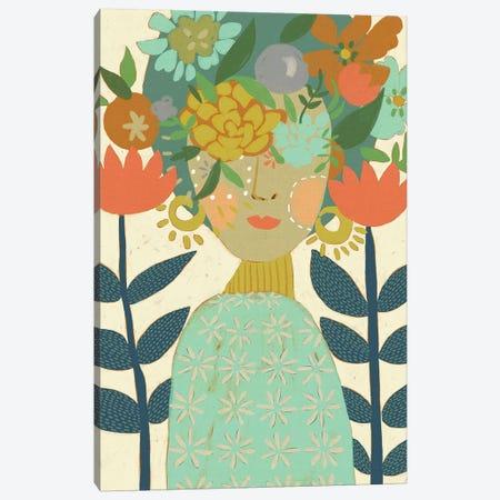 Botany Beauty II Canvas Print #ZAR669} by Chariklia Zarris Canvas Art