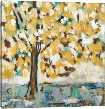 Golden Sunrise I Canvas Art Print