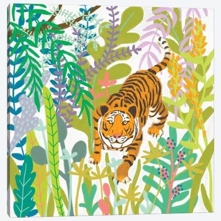 Jungle Roar II Canvas Print #ZAR686} by Chariklia Zarris Canvas Print