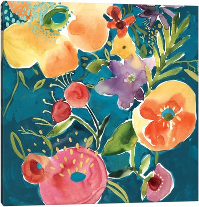 Abundant Florals I Canvas Art Print