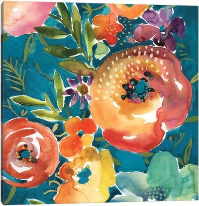 Abundant Florals II Canvas Art Print