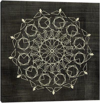 Geometric Tile III Canvas Art Print