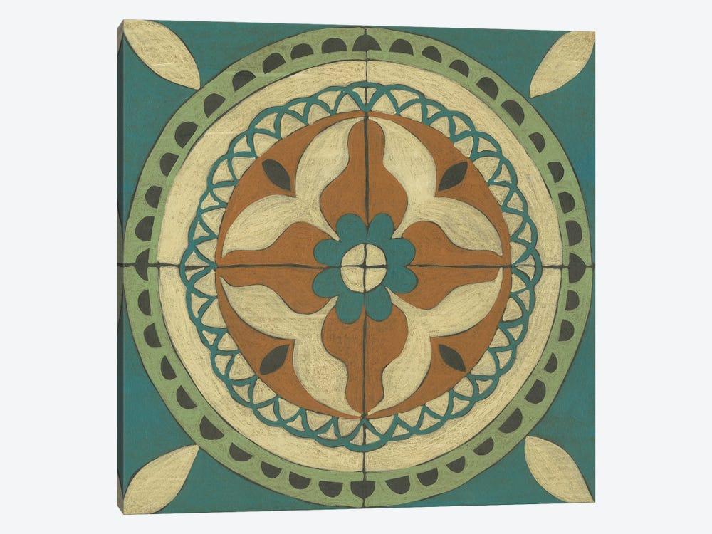 Fraser Tile I by Chariklia Zarris 1-piece Canvas Art