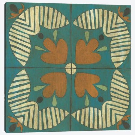 Fraser Tile II Canvas Print #ZAR704} by Chariklia Zarris Canvas Art