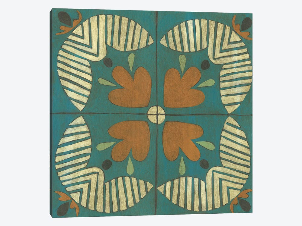 Fraser Tile II by Chariklia Zarris 1-piece Art Print