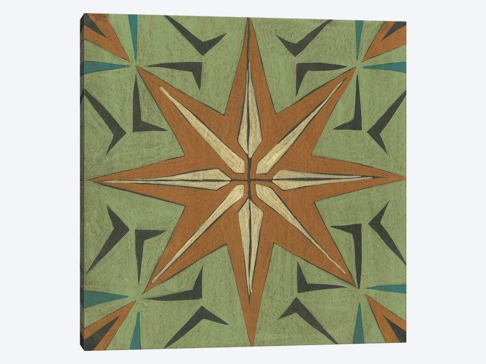 Fraser Tile III by Chariklia Zarris 1-piece Canvas Artwork