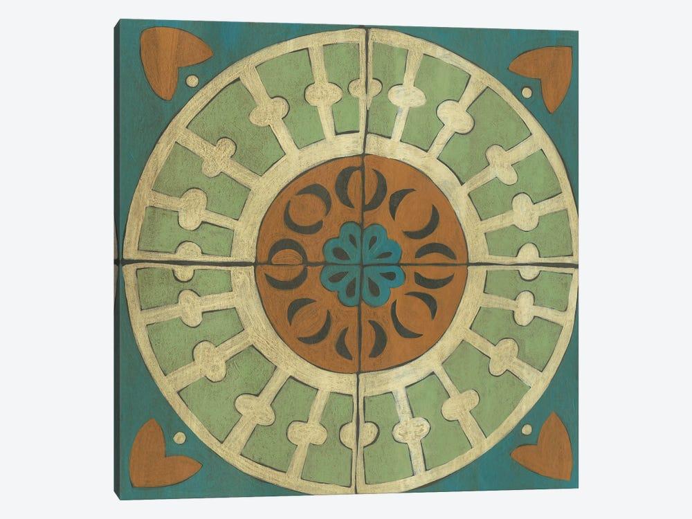 Fraser Tile IX by Chariklia Zarris 1-piece Canvas Art