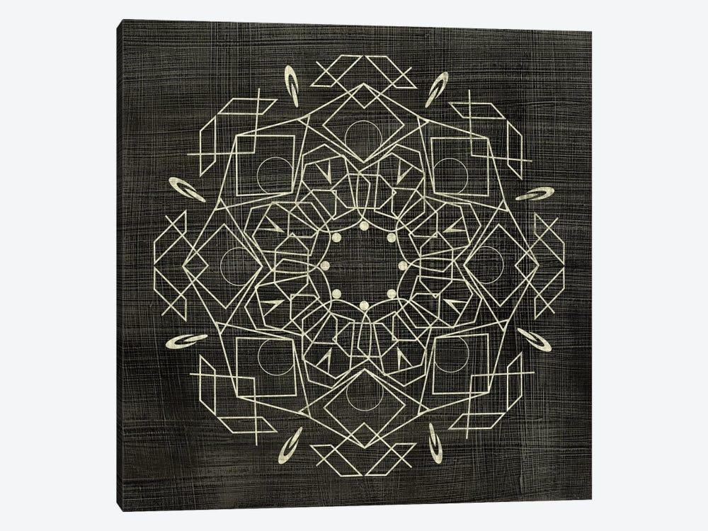 Geometric Tile IV by Chariklia Zarris 1-piece Canvas Art Print