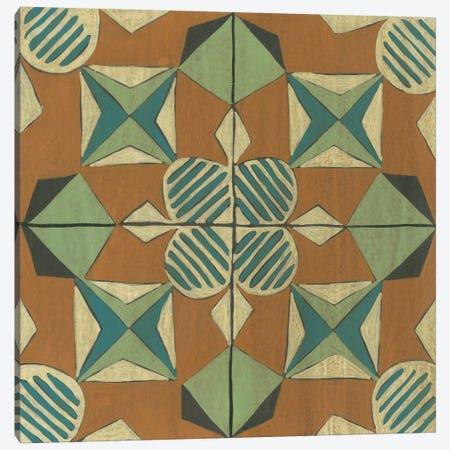 Fraser Tile VIII Canvas Print #ZAR711} by Chariklia Zarris Canvas Wall Art
