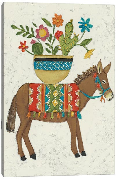 Market Boro I Canvas Art Print