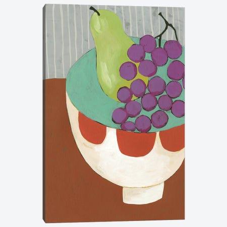Modern Fruit II Canvas Print #ZAR721} by Chariklia Zarris Canvas Print