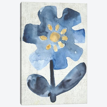 Sea Flower I Canvas Print #ZAR741} by Chariklia Zarris Canvas Art Print