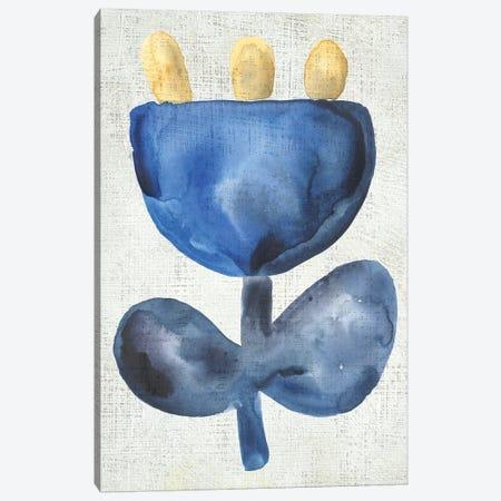Sea Flower VI Canvas Print #ZAR745} by Chariklia Zarris Canvas Artwork