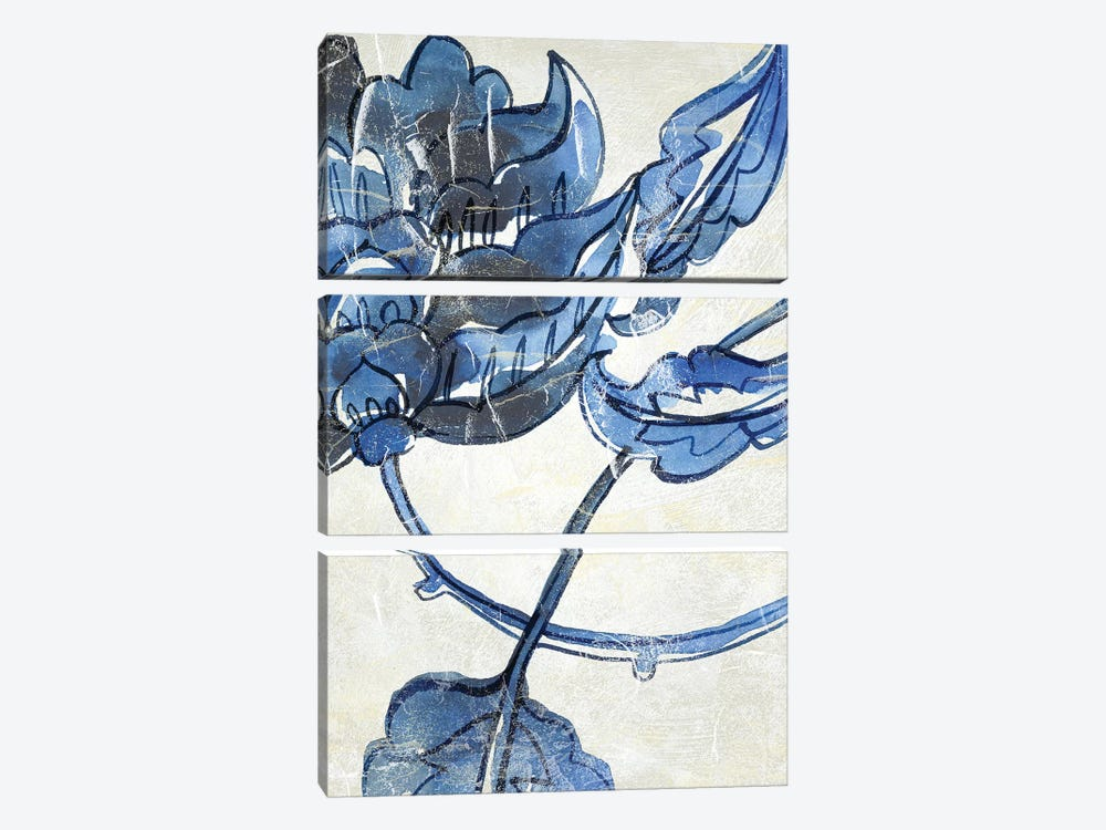 Vintage Porcelain IV by Chariklia Zarris 3-piece Canvas Print