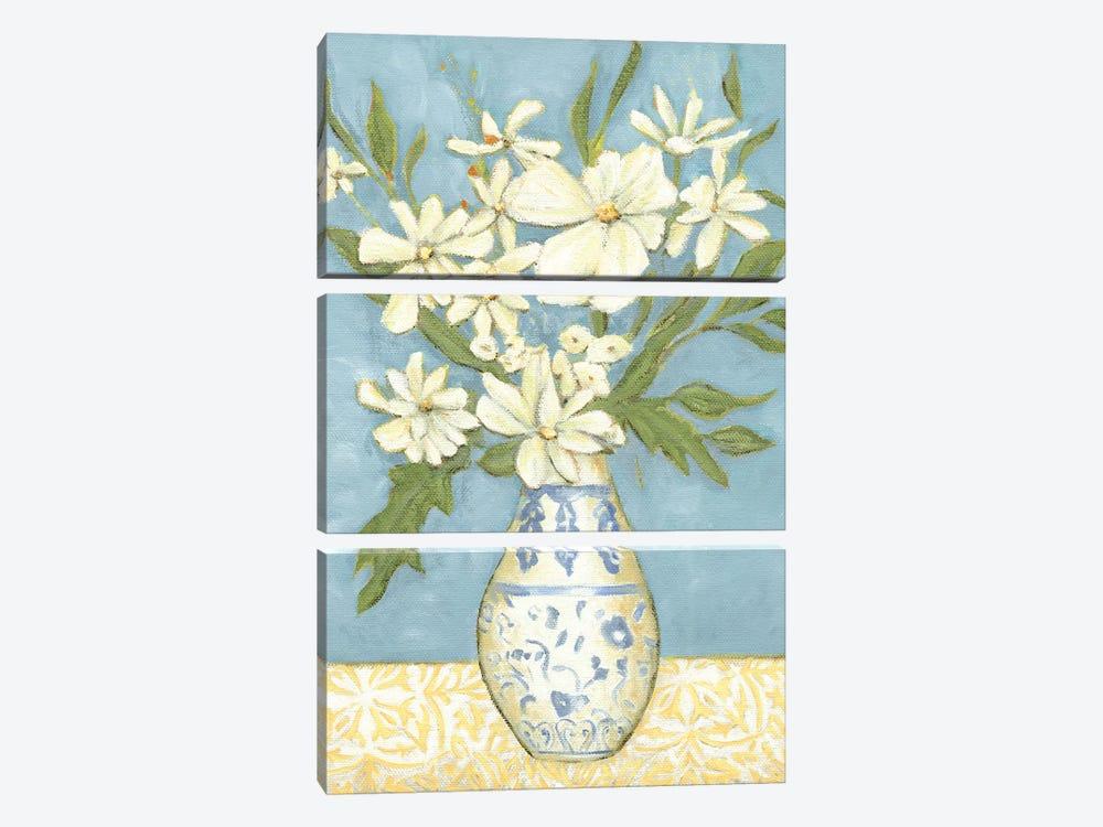 Springtime Bouquet II by Chariklia Zarris 3-piece Canvas Print