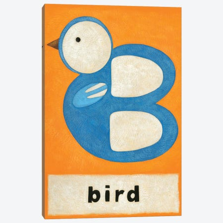 B Is For Bird Canvas Print #ZAR79} by Chariklia Zarris Canvas Artwork