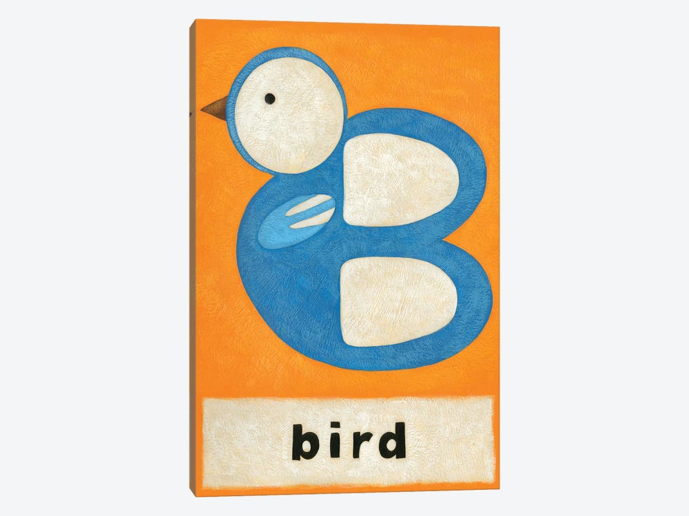 B Is For Bird by Chariklia Zarris 1-piece Canvas Artwork