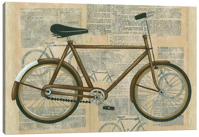 Tour By Bicycle I Canvas Print #ZAR9